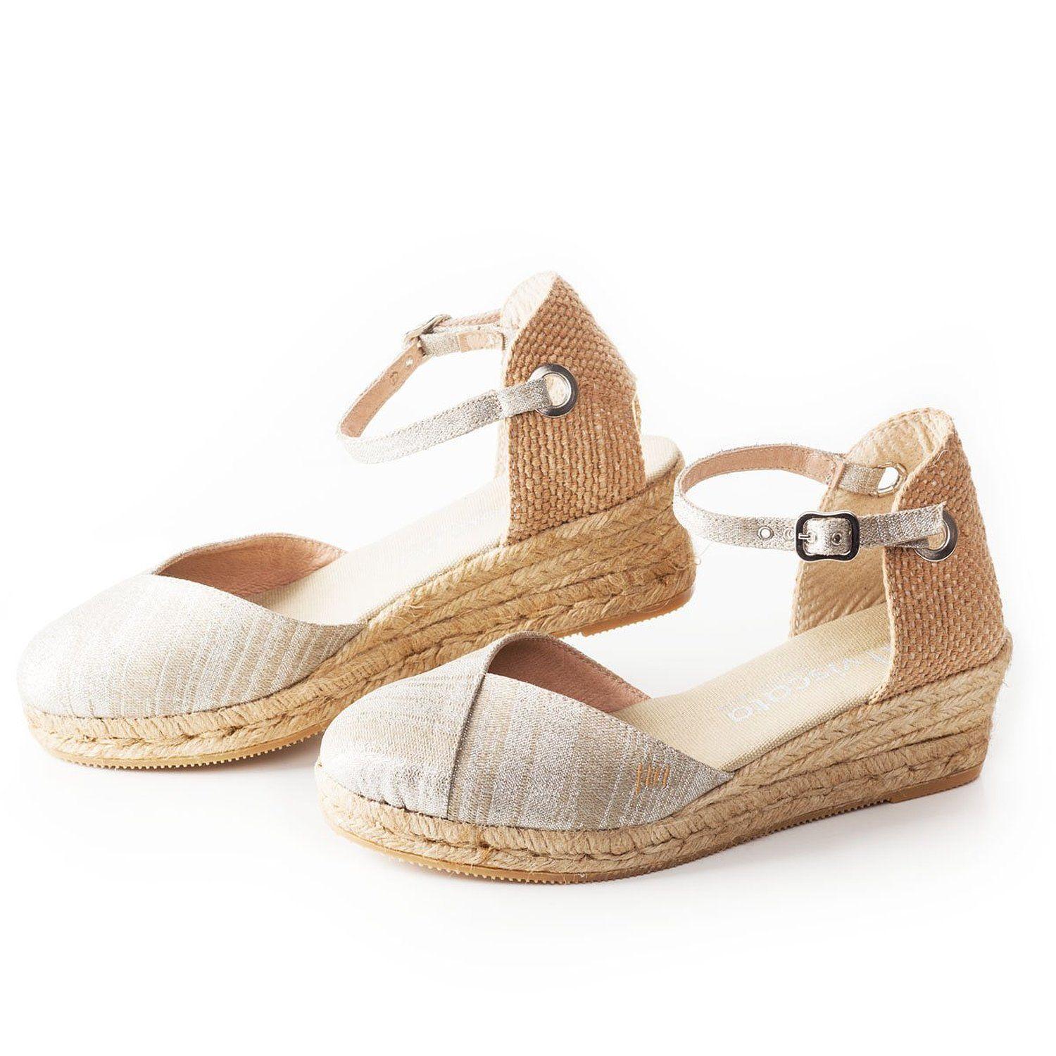Espadrilles 2 inch heel