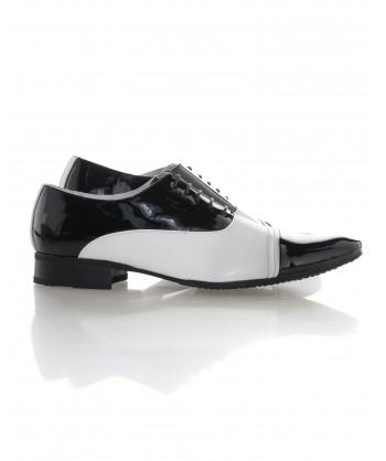 Chaussure blanche de ville homme