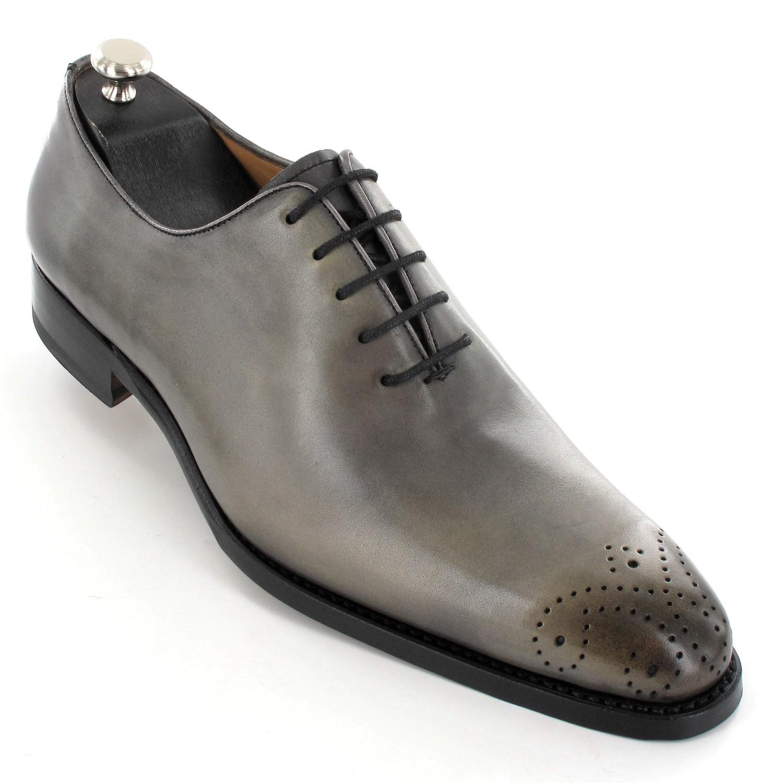 Chaussure homme de ville grise