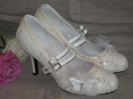 Chaussure de costume ivoire