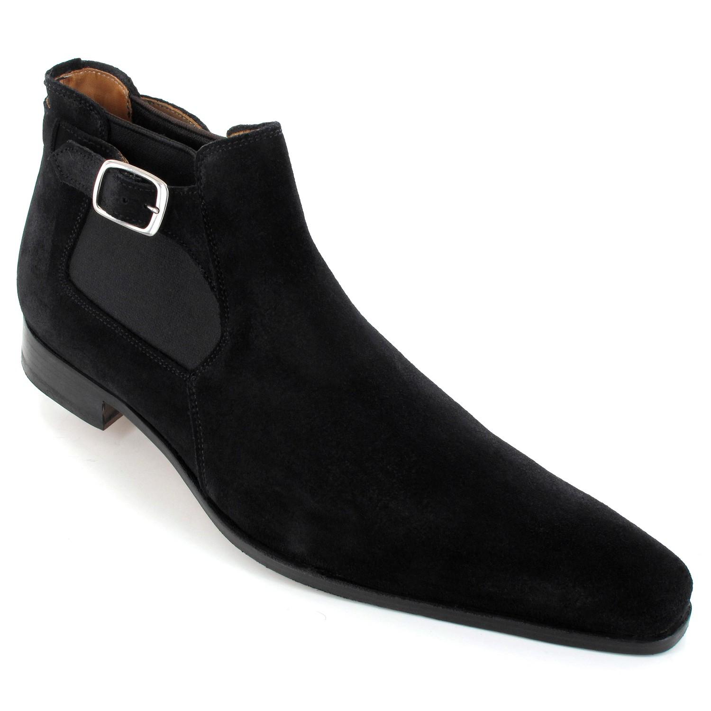 Chaussure homme bottine daim