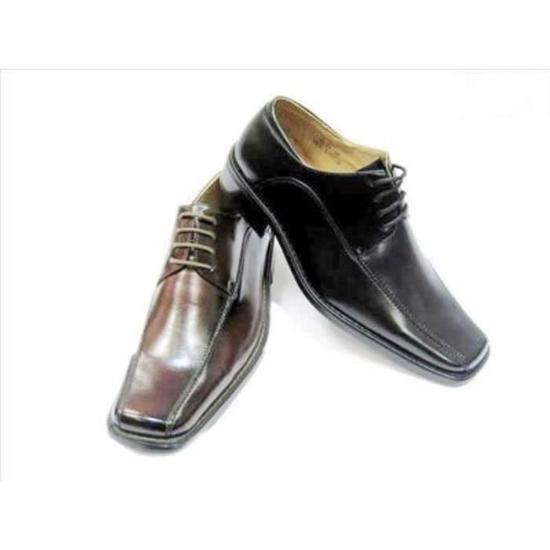 Chaussure de ville homme bout carré