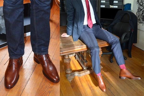 Choisir chaussure costume