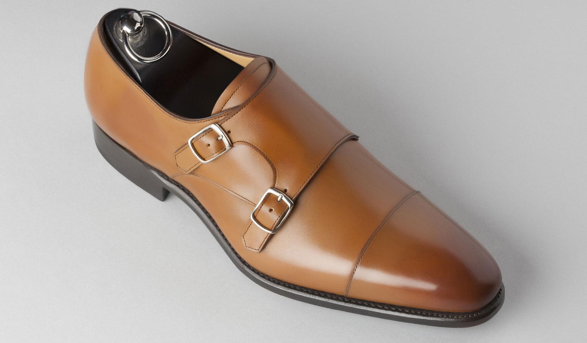 Chaussure de ville a boucle homme