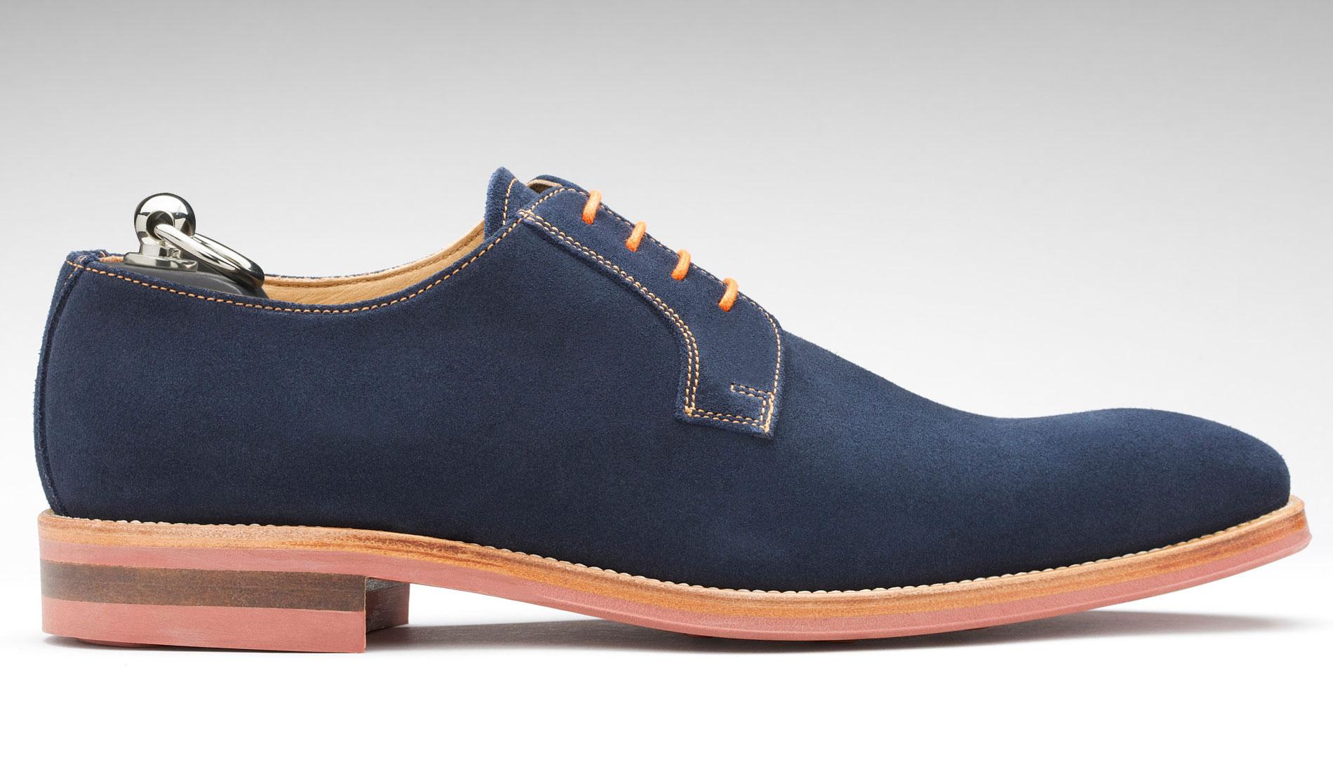Chaussure de ville bleu marine