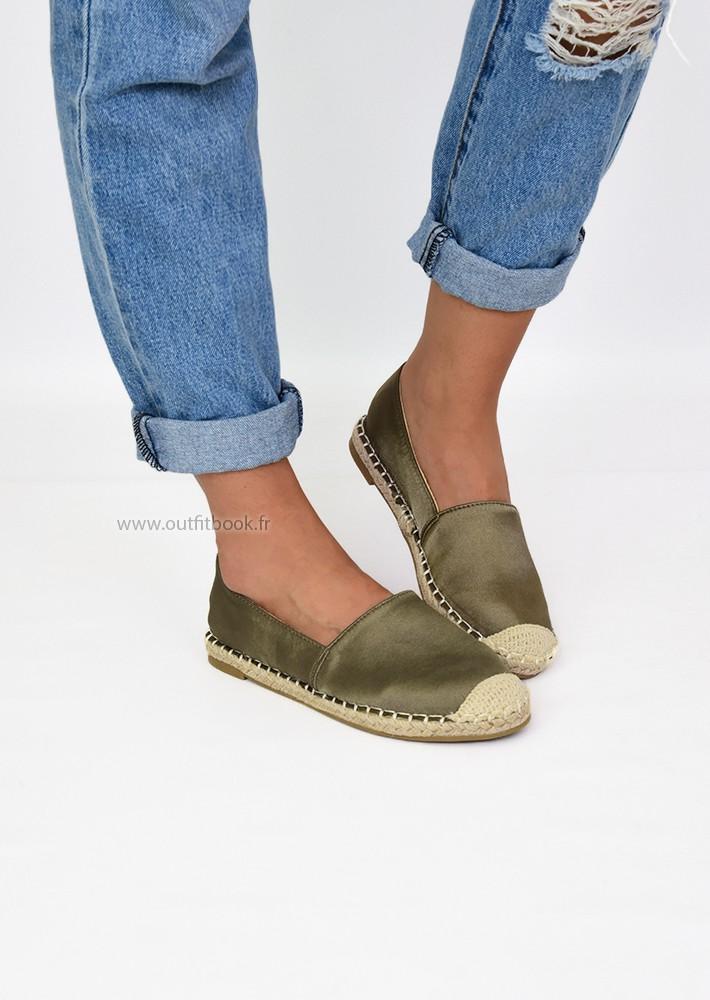 Espadrilles kaki