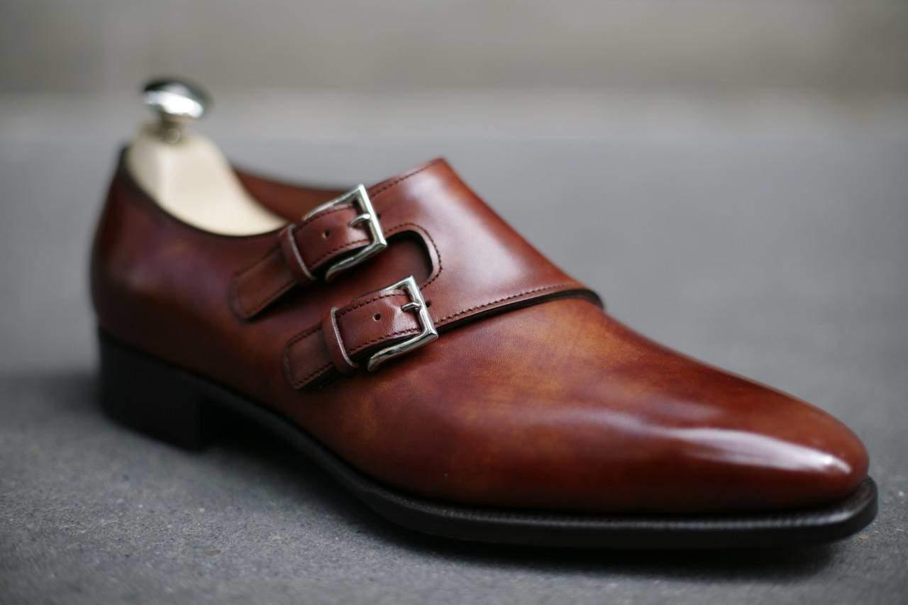 Chaussure de ville homme avec boucle