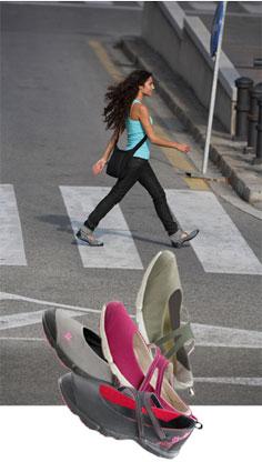 Chaussure marche de ville