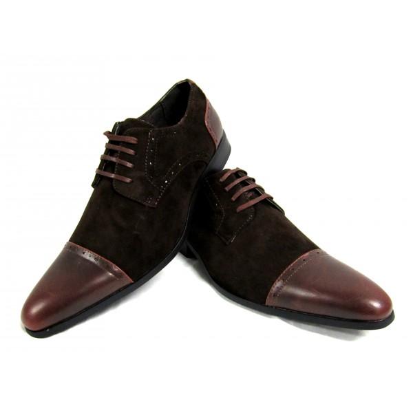Chaussure de ville en daim homme