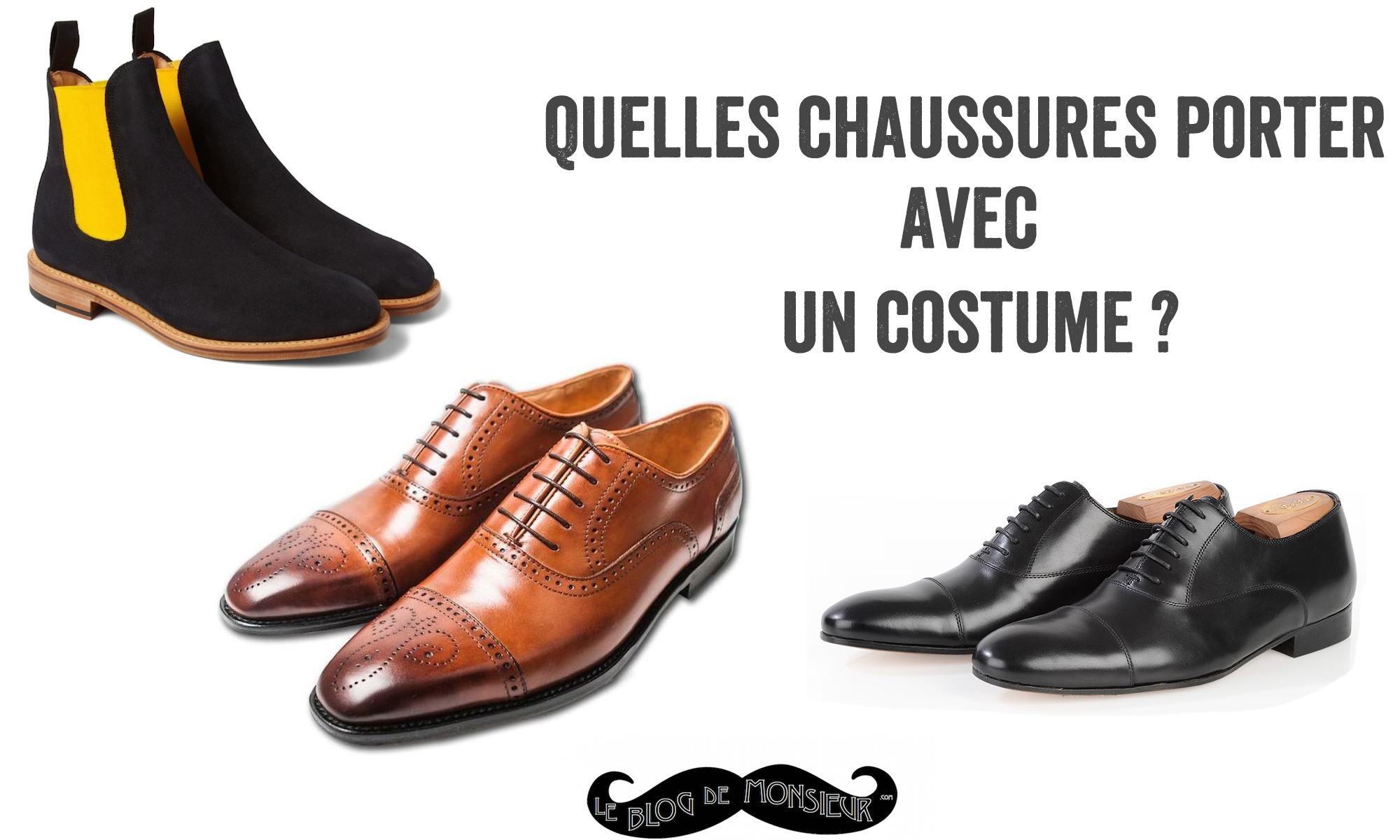 Chaussure pour costume garcon