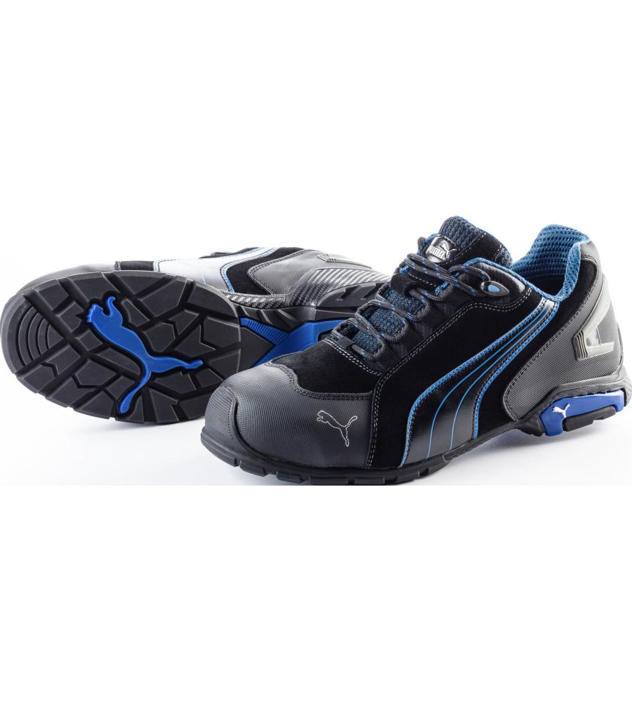 Chaussure de securite bleu