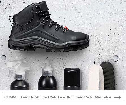 Plateforme du batiment chaussure de securite