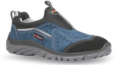 Chaussure de securite legere sans lacet