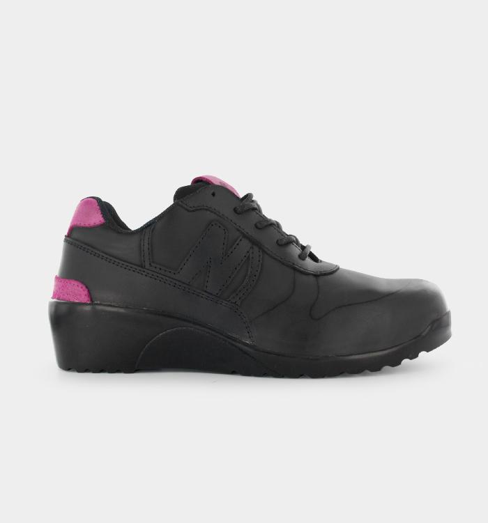 Chaussure de securite femme pied large