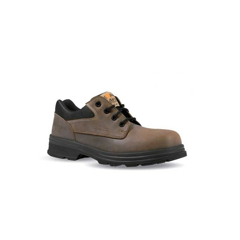 Chaussure de sécurité cuir marron