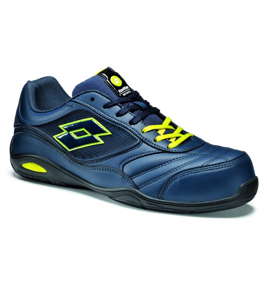Chaussure de sécurité bleu