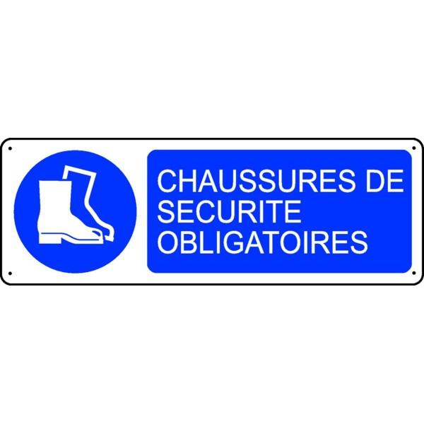 Port de chaussure de securite obligatoire