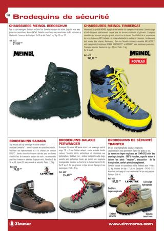 Chaussure de securite zimmer