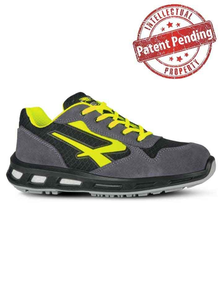 Chaussure de securite yellow